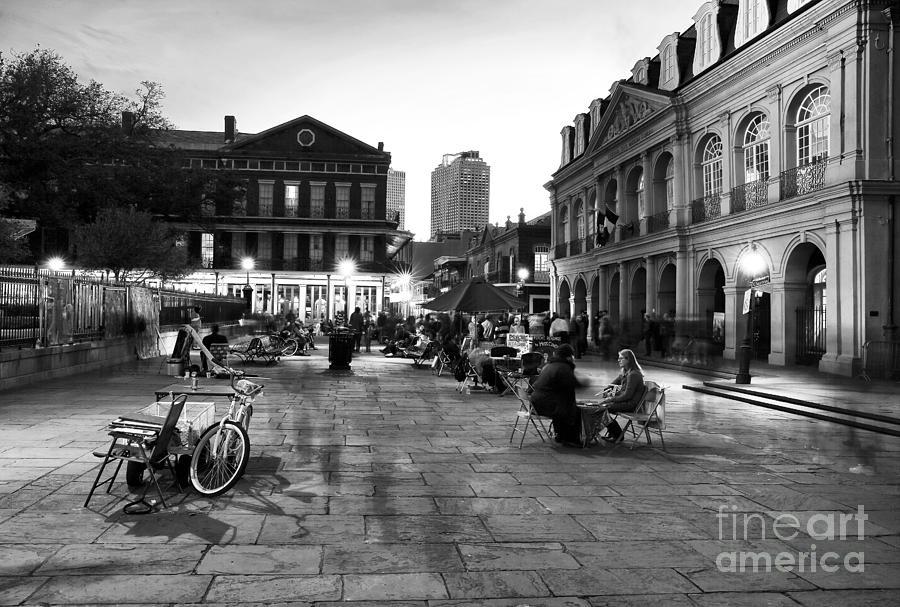 Spirits Photograph - Spirits In Jackson Square by John Rizzuto