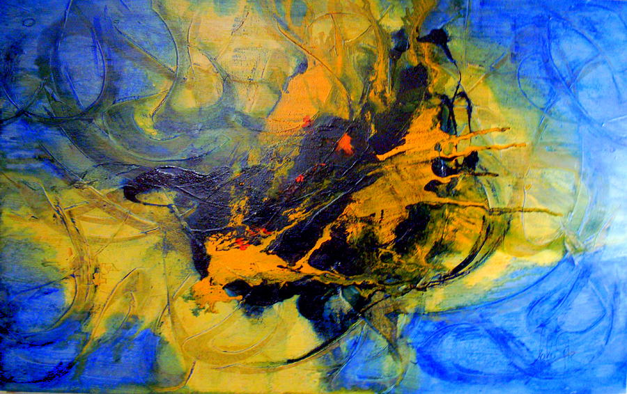 Spiritual Freedom Painting by Lalo Gutierrez