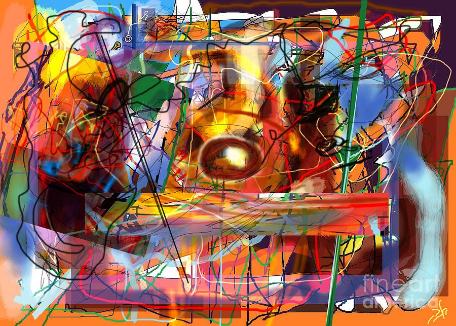 Torah Digital Art - Spiritual Understanding 3 by David Baruch Wolk