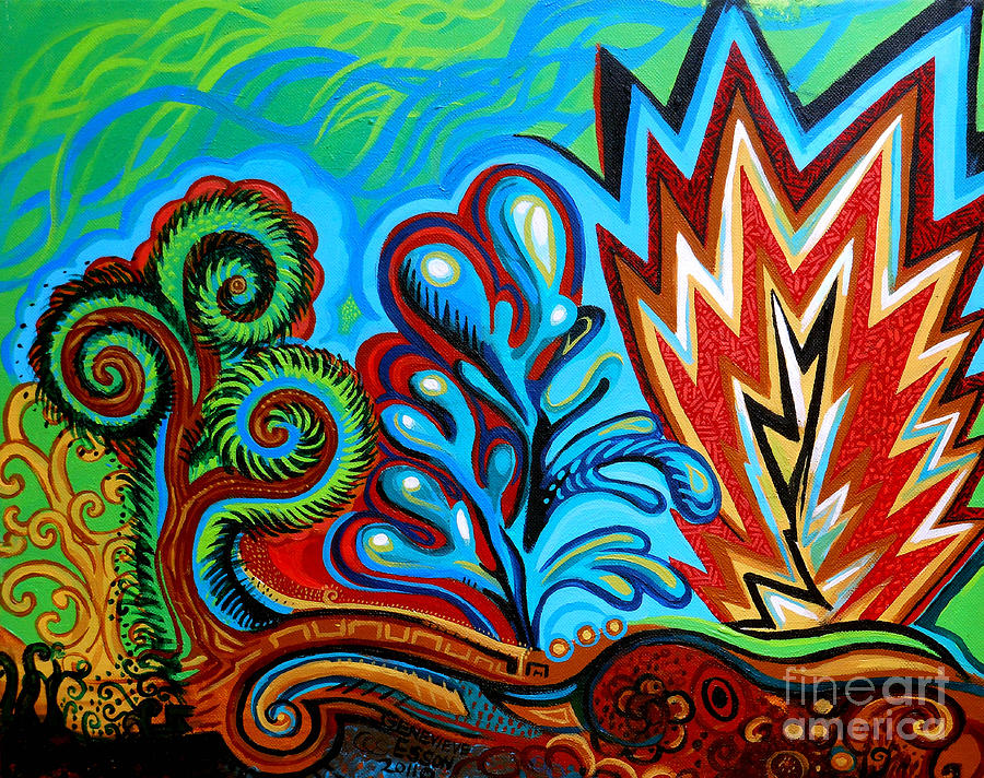 Spiro Gyra Painting