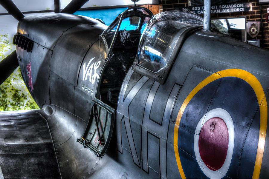 Spitfire Photograph - Spitfire by Ian Hufton