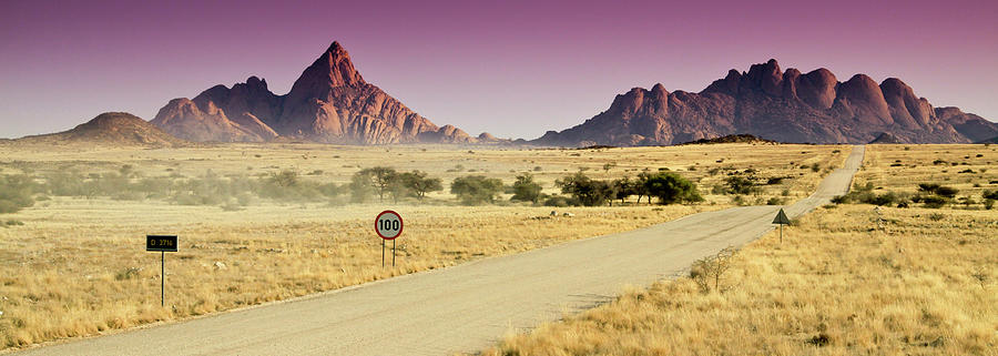 Panoramic Photograph - Spitzkoppe, Namibia by Mb Photography