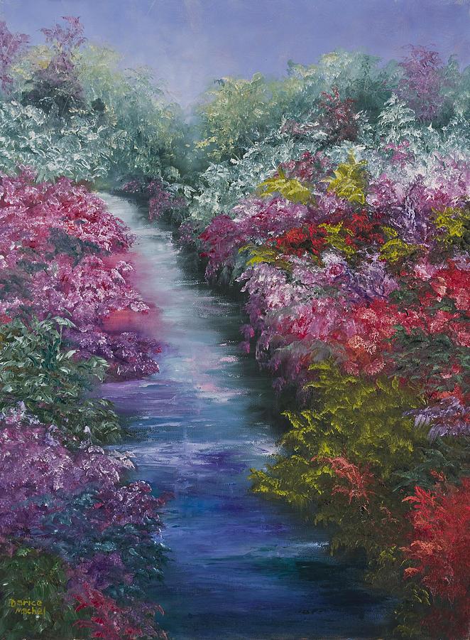 Landscape Painting - Splash Of Spring by Darice Machel McGuire