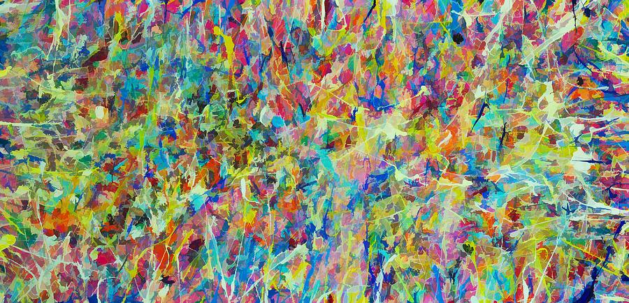 Splattering Acrylic Paint