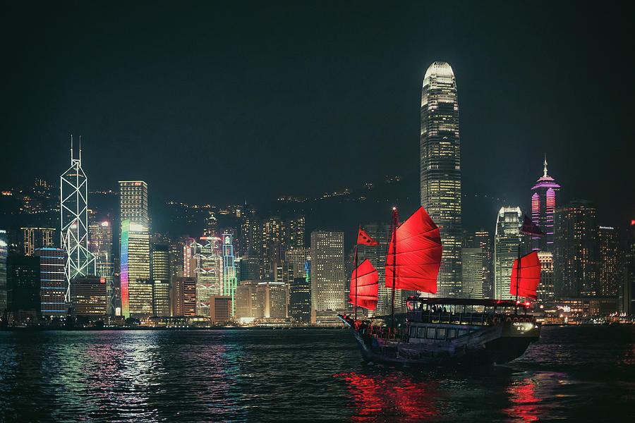 Splendid Asian City, Hong Kong Photograph by D3sign
