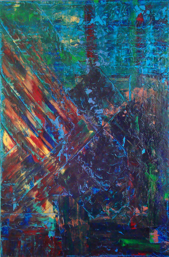 Abstract Painting - Splendid Chaos by Jay Strong