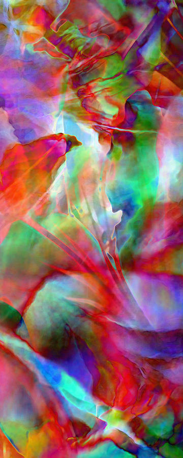 Flower Art Prints Painting - Splendor - Abstract Art by Jaison Cianelli