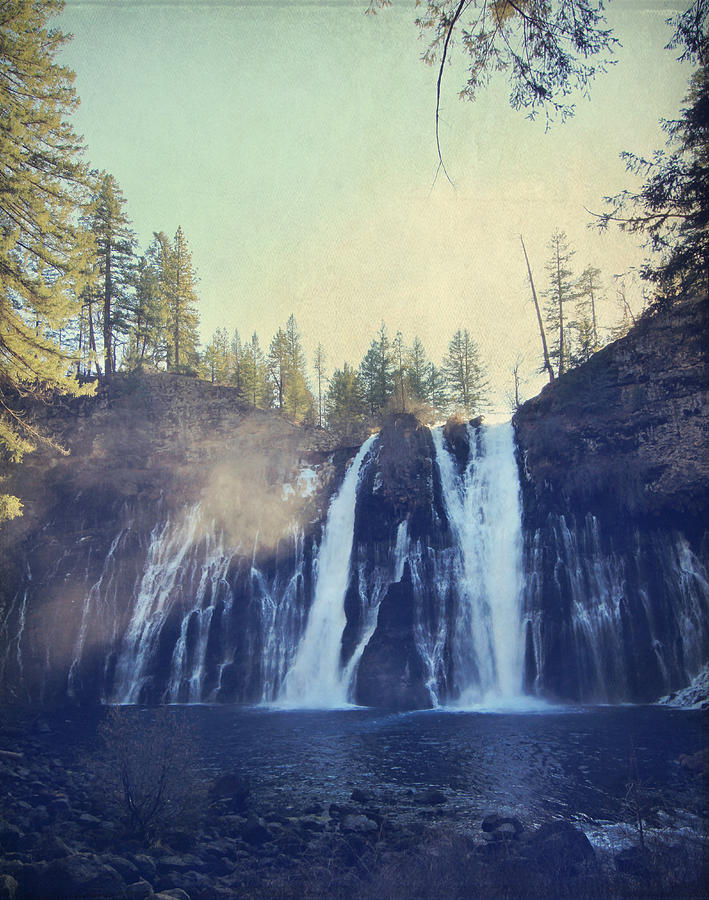 Burney Falls State Park Photograph - Splendor by Laurie Search