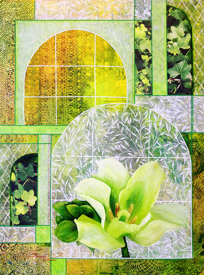 Floral Mixed Media - Splendour of the Seasons - Spring by Lynn Lawson Pajunen