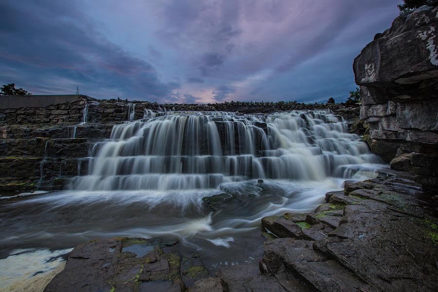 Waterfall Photograph - Split Rock Falls by Aaron J Groen