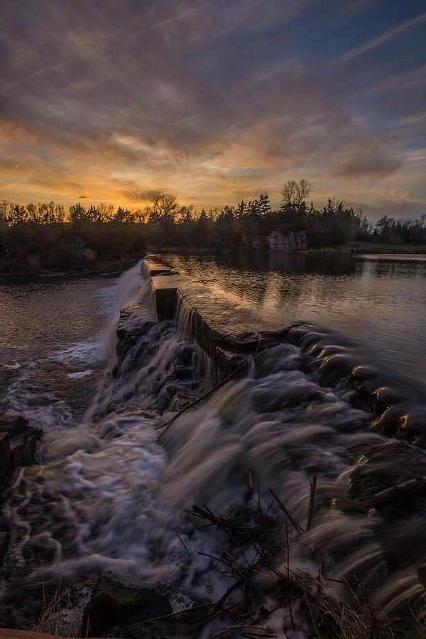 Split Rock Creek Photograph - Split Rock Sunset 2 by Aaron J Groen