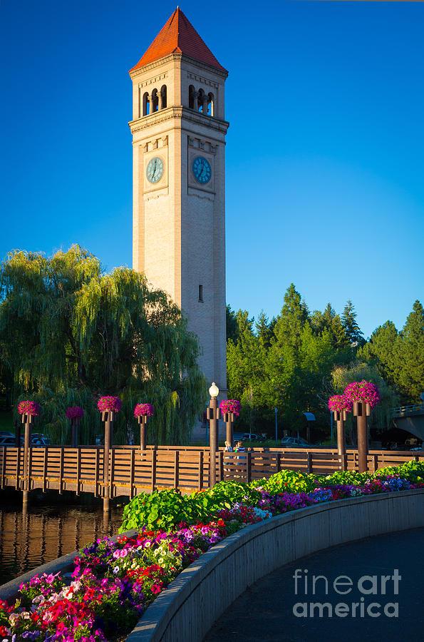 Spokane Clocktower Photograph By Inge Johnsson