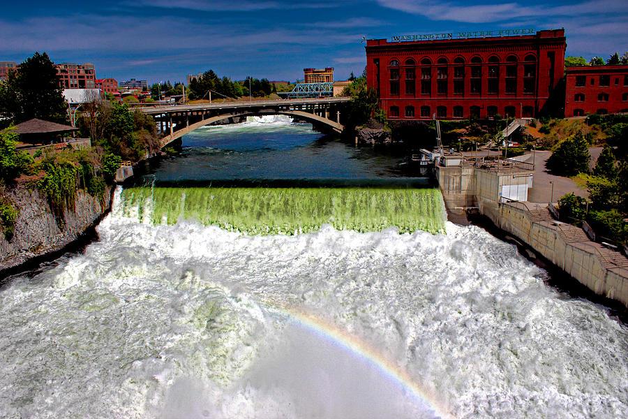 Spokane Falls Photograph by Rusty Jeffries