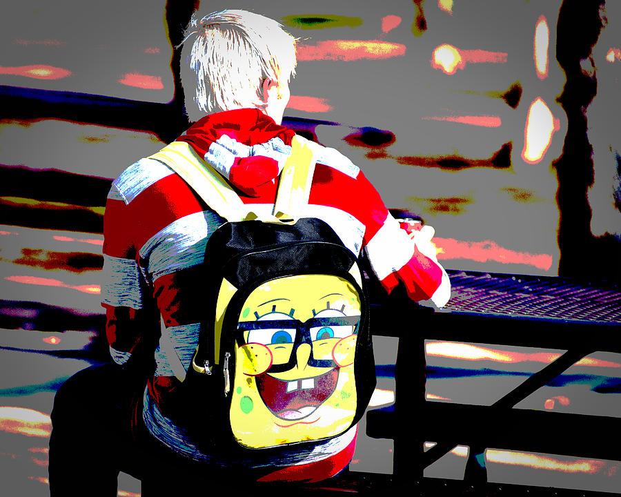 Sponge Bob Rides Again Photograph