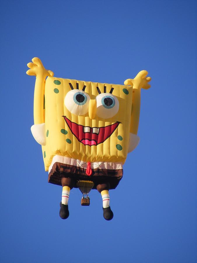 Spongebob Squarepants Hot Air Balloon Photograph By Kelly