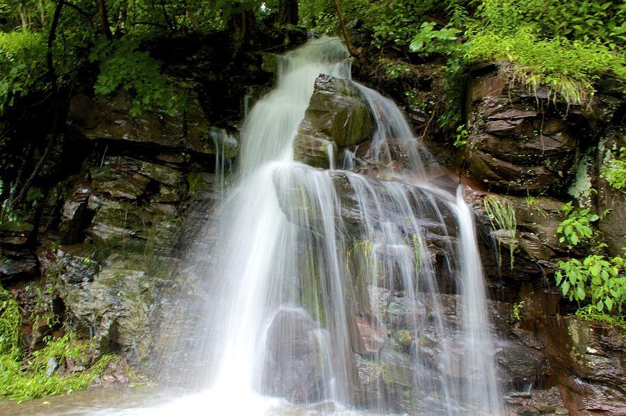 Delaware Photograph - Spontaneous Falls by Kathi Isserman