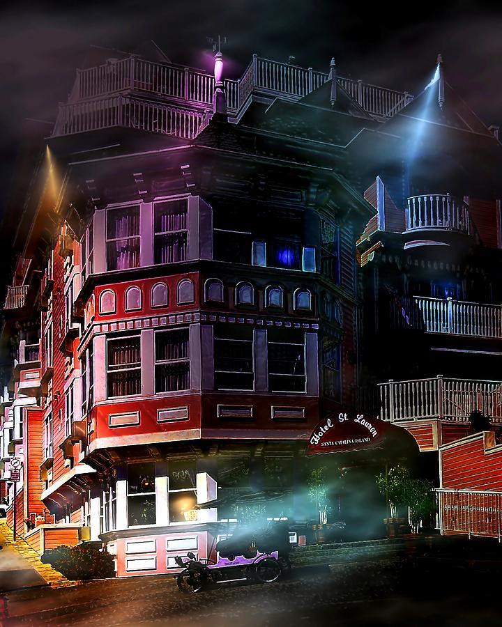 Hotel Catalina Photograph - Spooky by Wayne Wood