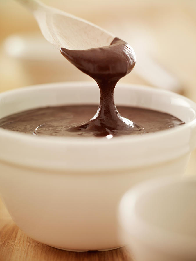 Spoon Scooping Melted Chocolate From Photograph by Adam Gault