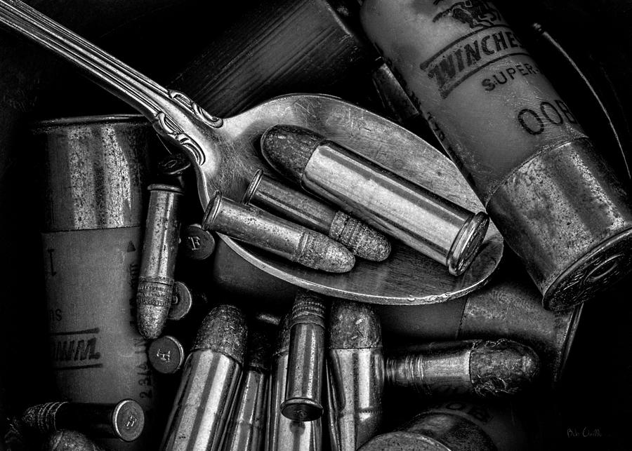 Bullet Photograph - Spoonful Of Bullets by Bob Orsillo