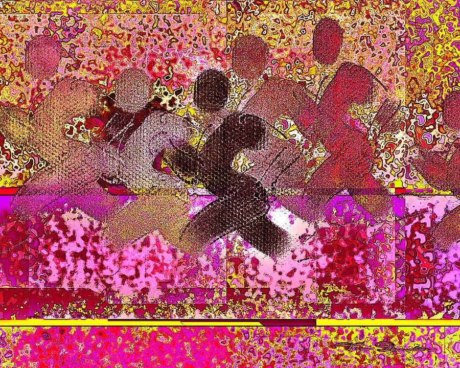 Theo Danella Digital Art - Sport B 4 B by Theo Danella