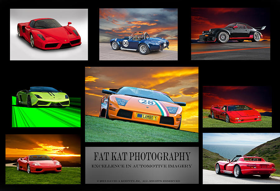 Exotic Sport Cars Photograph