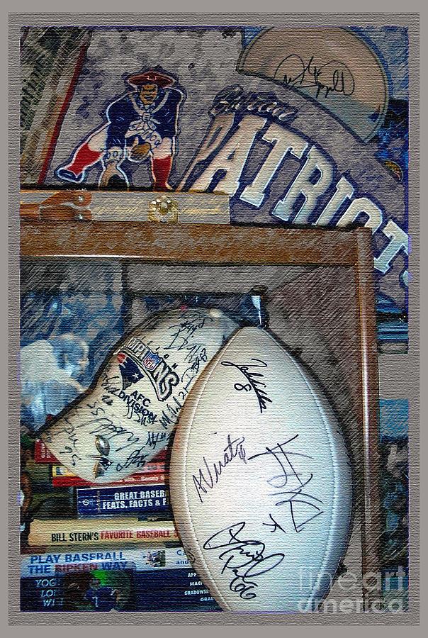Patriots Photograph - Sports Fan by Jack Gannon