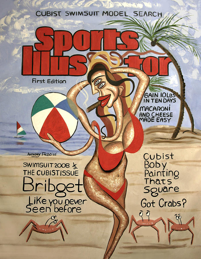 Sports Illustrator Swimsuit Edition Painting - Sports Illustrator Swimsuit Edition by Anthony Falbo