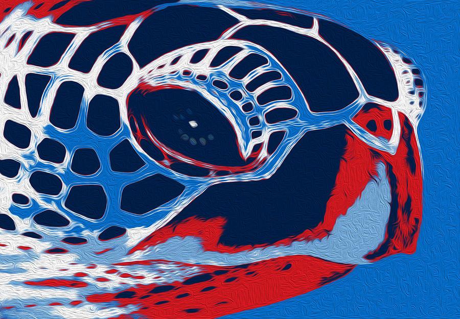 Tortoises Painting - Spot by Jack Zulli
