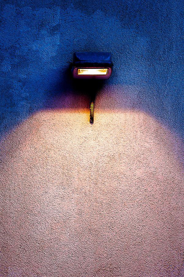 Abstract Photograph - Spot Of Warming Light by Alexander Senin