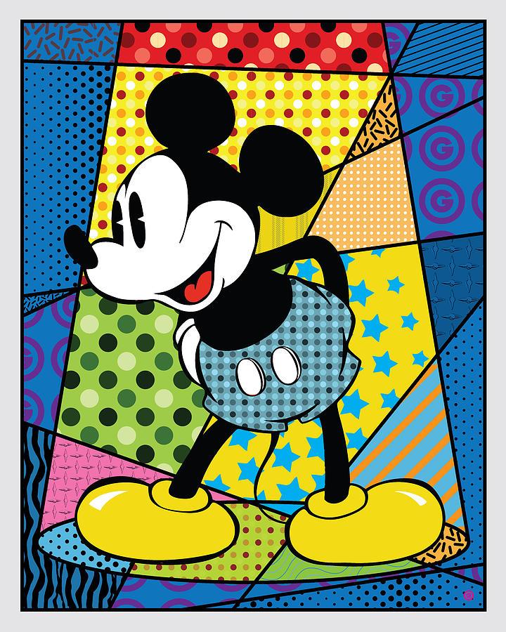 Spotlight Mickey 2 by Gary Grayson