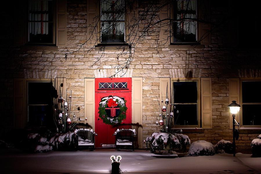 Light Photograph - Spotlight On Christmas by Paul Wash