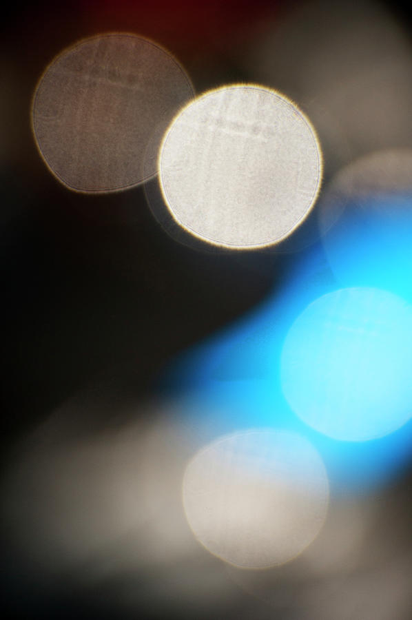 Spots Of Light Background Photograph by Brian Stablyk