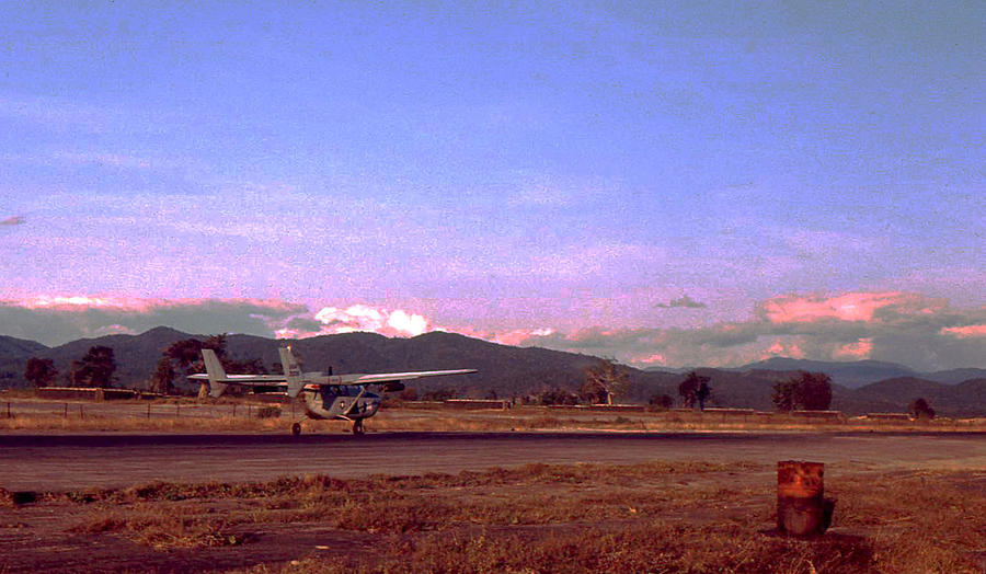 Vietnam Photograph - Spotter Plane by Norman Johnson