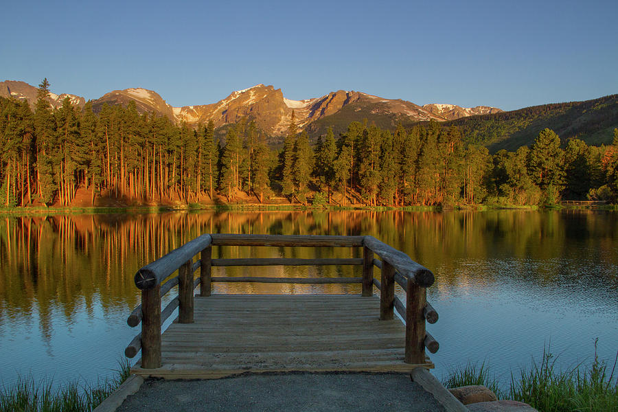 Sprague Lake Sunrise Photograph by John Kieffer