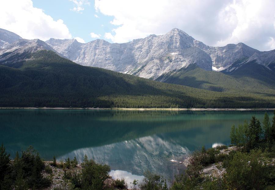 Spray Lake  Photograph by Carolyn Ardolino