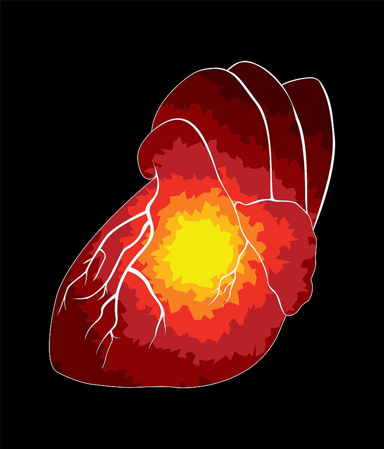 Heart Digital Art - Spread by Sara Ponte