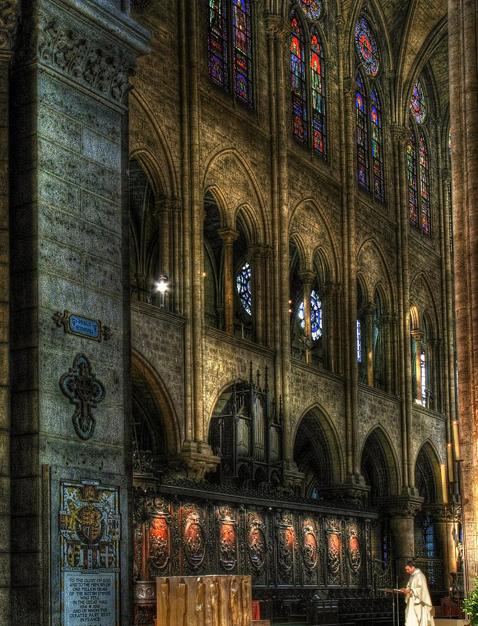 Notre Dame Photograph - Spreading The Word by Douglas J Fisher