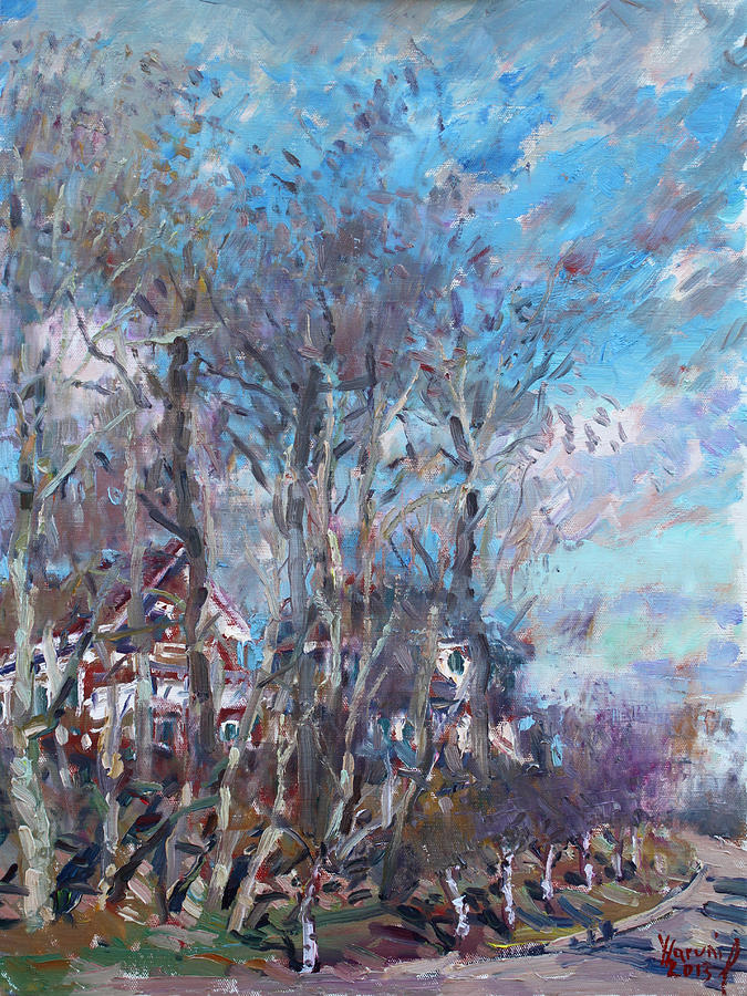 Spring Painting - Spring 2013 by Ylli Haruni