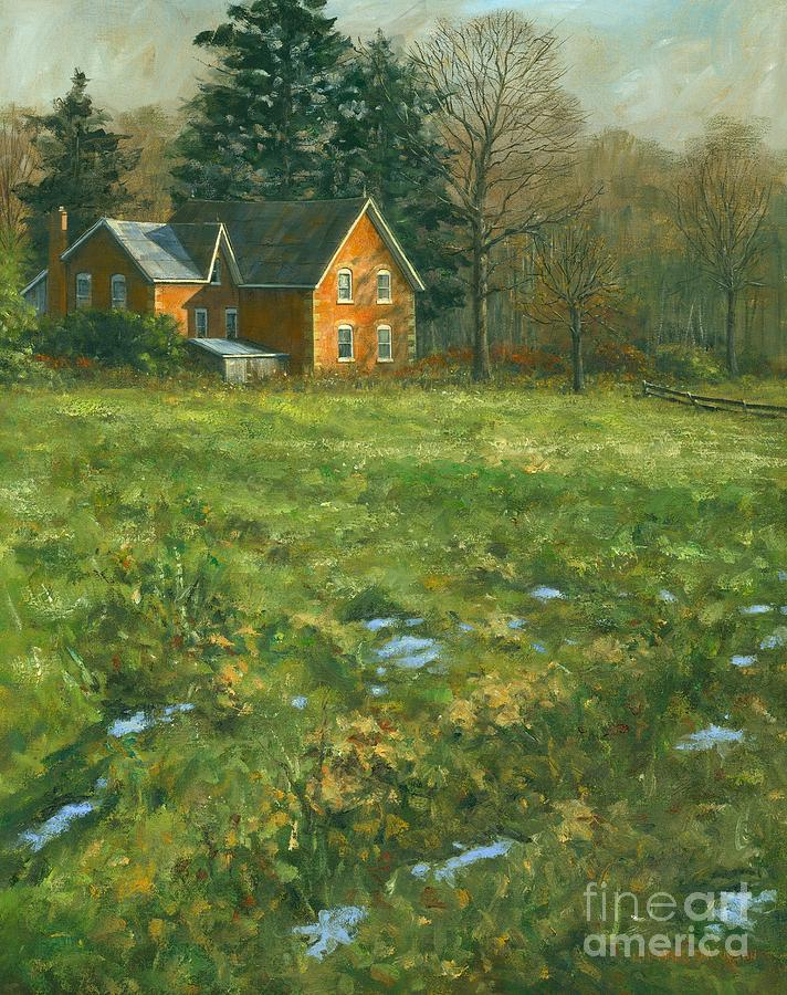 Farm Painting - Spring by Michael Swanson