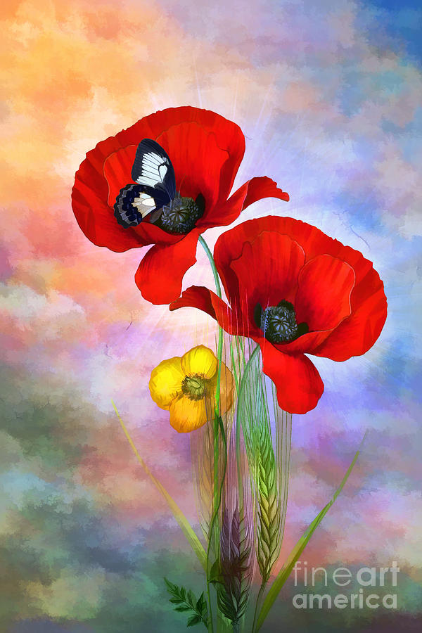 Spring Painting - Spring.......... by Andrzej Szczerski