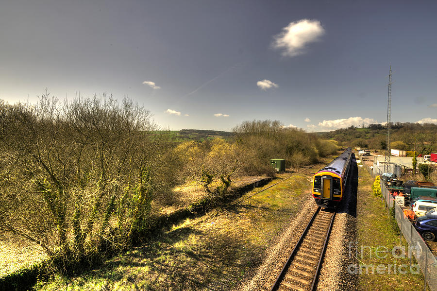 Seaton Photograph - Spring At Seaton Junction  by Rob Hawkins