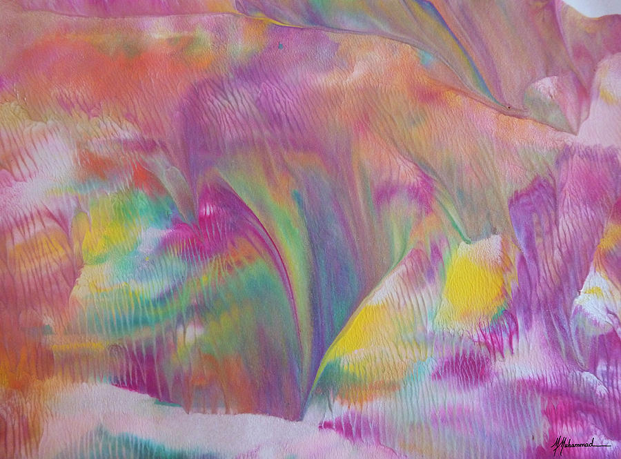 Abstract Painting - Spring Aurora by Marcella Muhammad