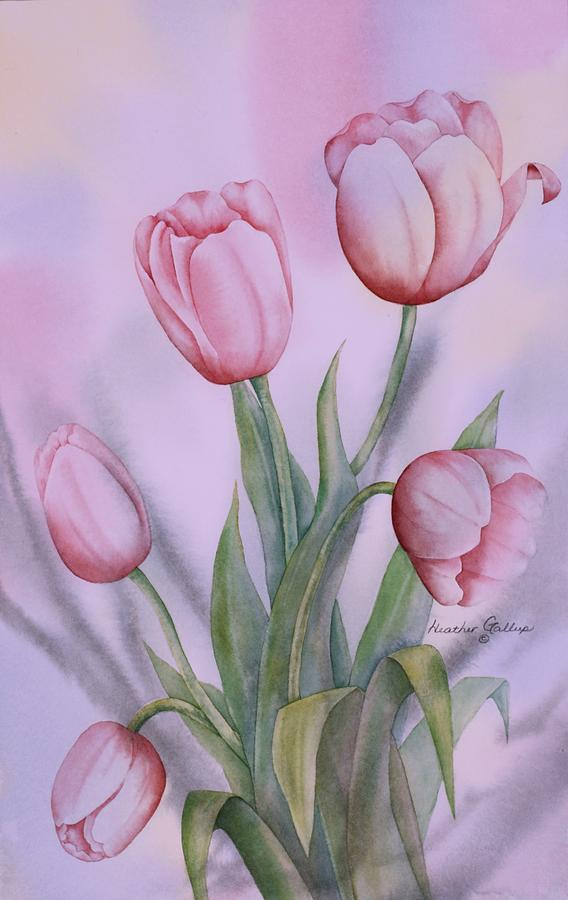 Spring Blooms Painting - Spring Blooms Spring by Heather Gallup