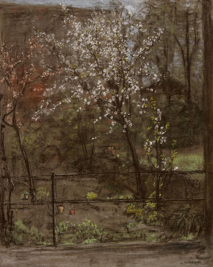 Blossom Pastel - Spring Blossoms by Henry Muhrmann