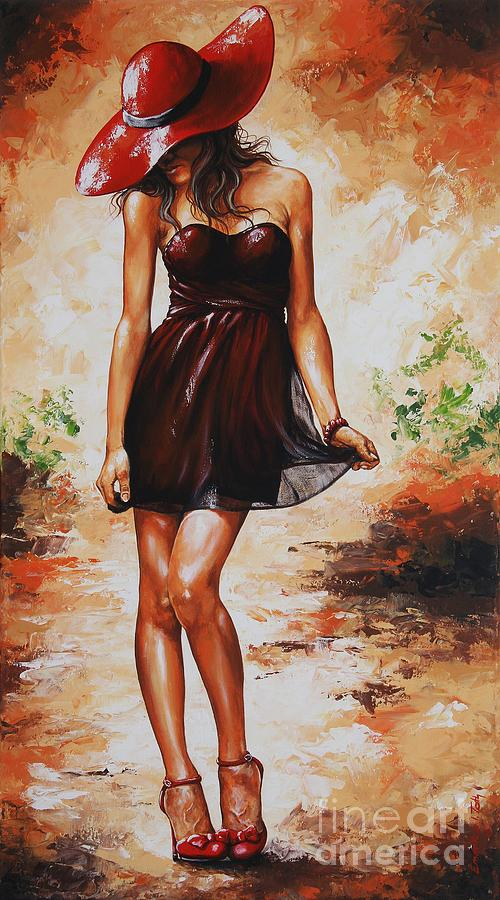 Spring Painting - Spring Breeze 04 by Emerico Imre Toth
