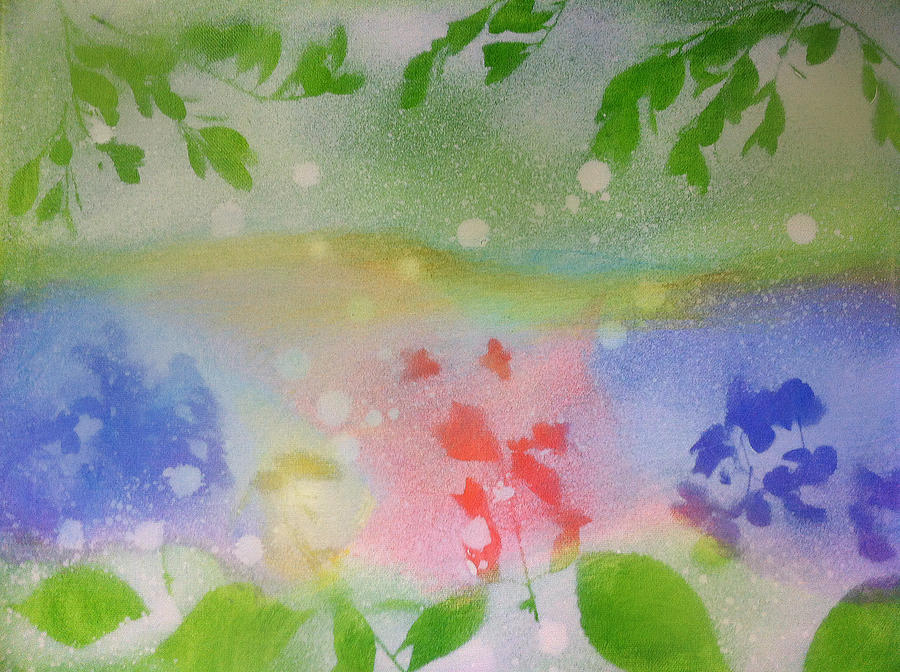 Floral Painting - Spring Dance by Michelle Hoshino