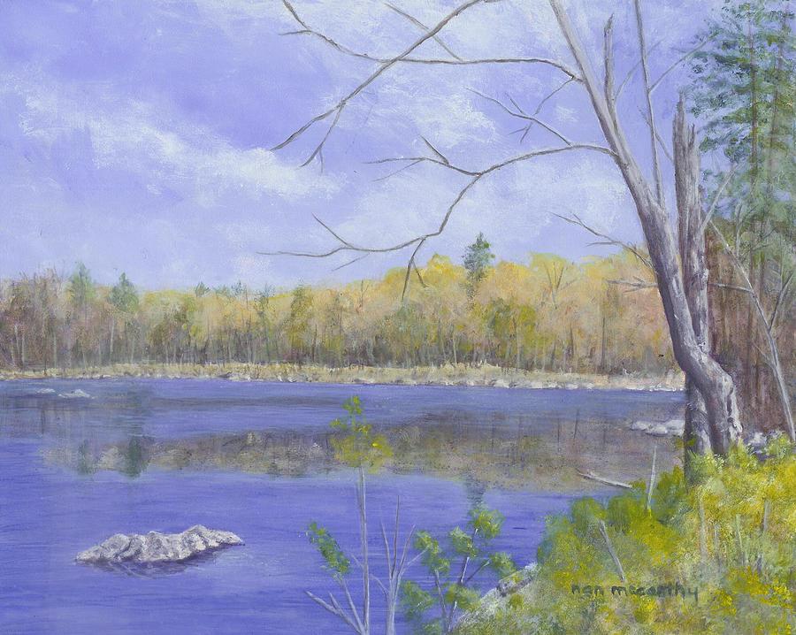Nh Painting - Spring Day by Nan McCarthy