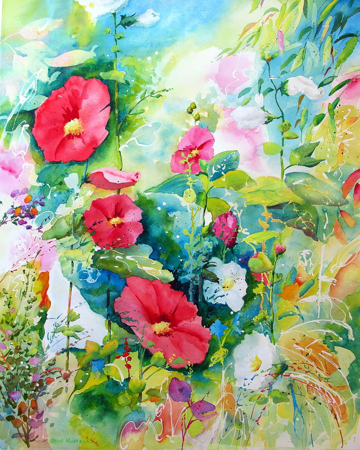Abstract Paintings Painting - Spring Equinox by John Nussbaum