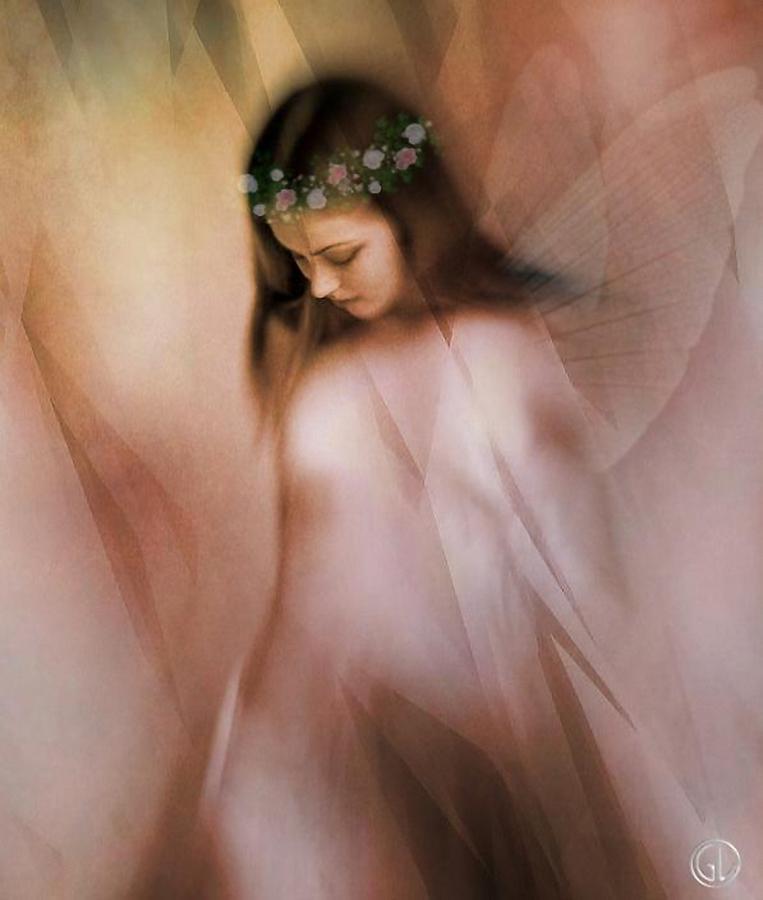 Fairy Digital Art - Spring Fairy by Gun Legler