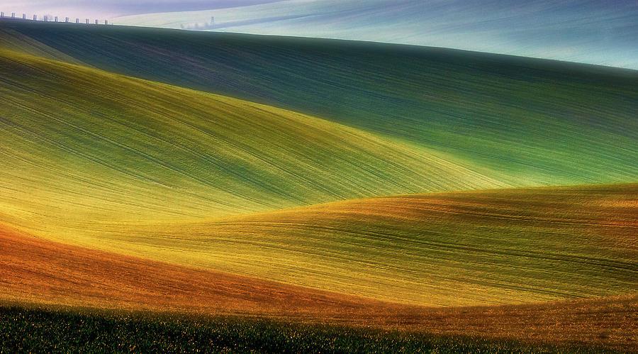 Moravia Photograph - Spring Fields by Piotr Krol (bax)